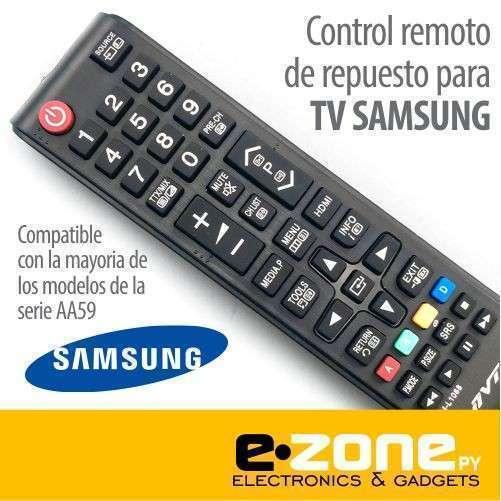 Control remoto para tv Samsung - 0