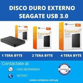 Disco duro externo 1 tera Seagate usb 3.0