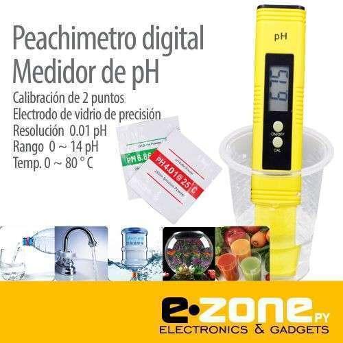 Medidor de pH digital líquidos y semi líquidos - 0