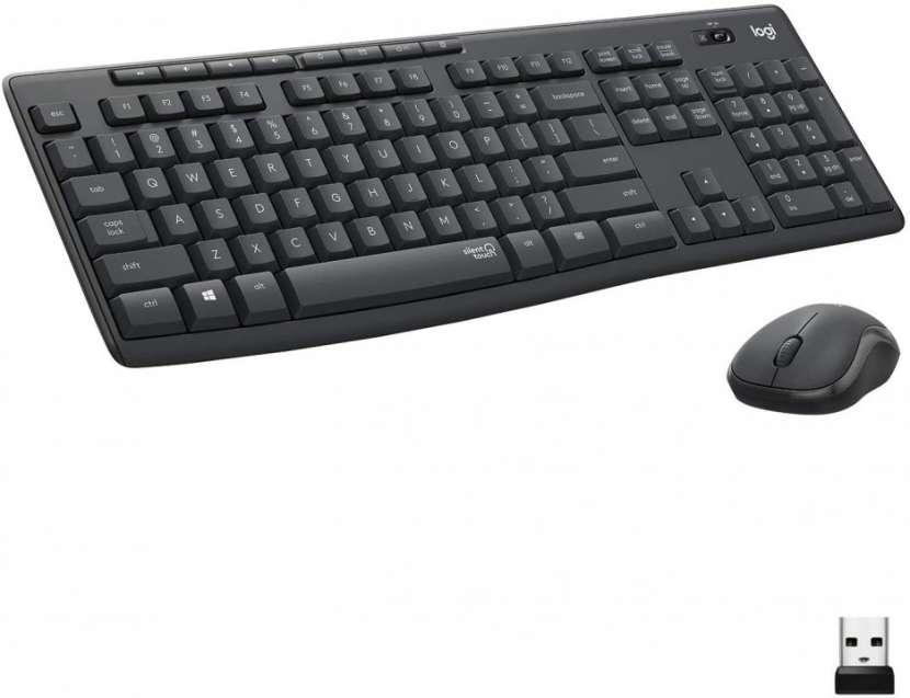 Teclado y mouse inalámbrico Logitech MK295 Silent español - 0