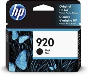 Cartucho de tinta HP 920 XL negro