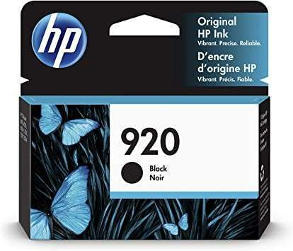 Cartucho de tinta HP 920 negro