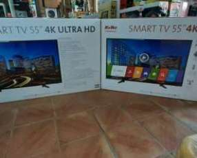 TV LED Smart Kolke full UHD 4k Android de 55 pulgadas