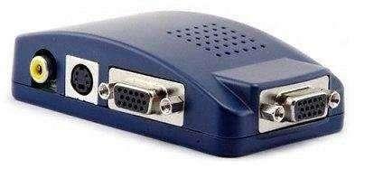 Conversor RCA A VGA para conectar en monitor - 1