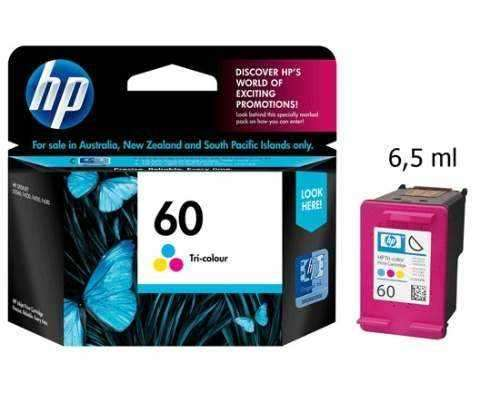 Cartucho de tinta HP 60 color. - 1