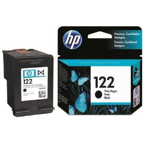 Cartucho de tinta HP 122 negro CH561HL - 1