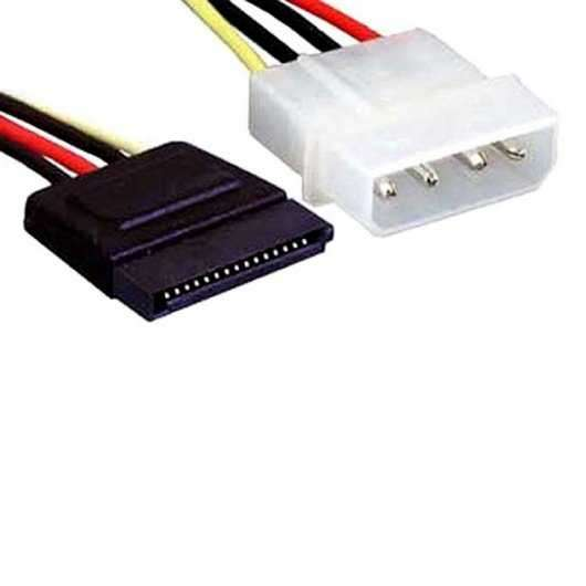 Cable Sata alimentación para fuente. - 1