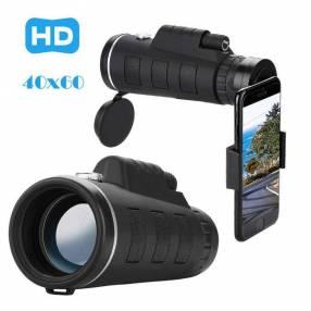 Zoom telescopio 40x60 y clip para smartphone