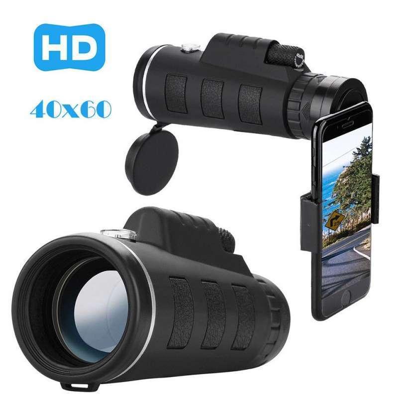Zoom telescopio 40x60 y clip para smartphone - 0
