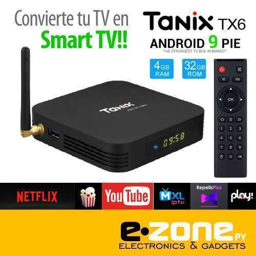 Tanix TX6 convertidor smart tv Android - 0
