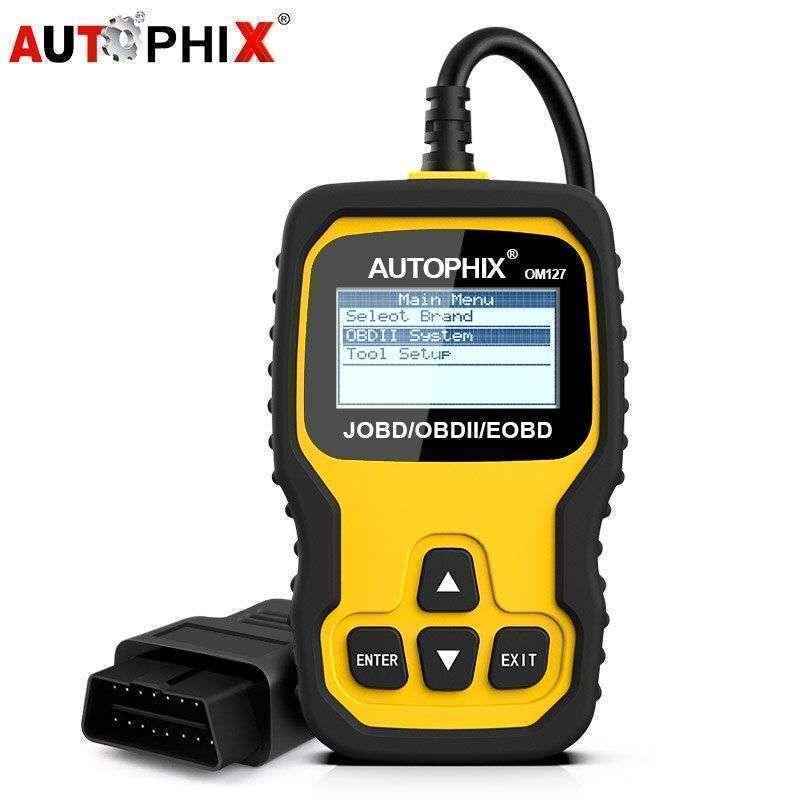Escáner Autophix OM127 JOBD/OBDII. Lee jap. vía Chile - 0