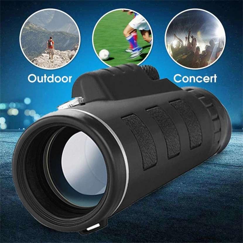 Zoom telescopio 40x60 y clip para smartphone - 1