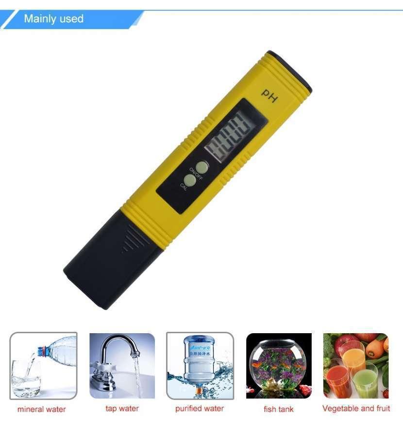 Medidor de pH digital líquidos y semi líquidos - 1
