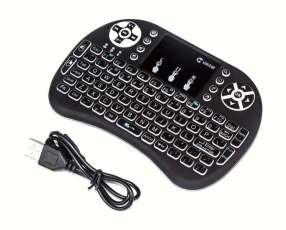 Mini teclado inalámbrico iluminado