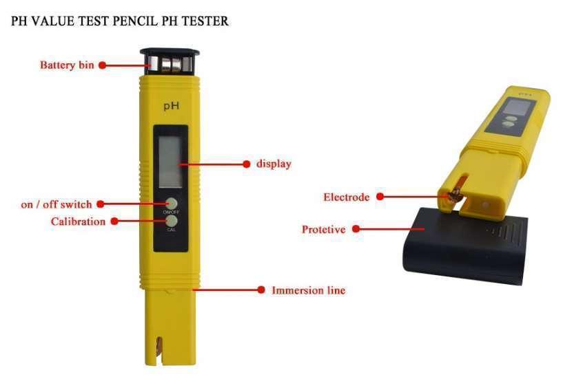 Medidor de pH digital líquidos y semi líquidos - 2