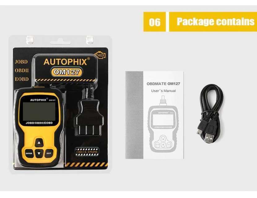 Escáner Autophix OM127 JOBD/OBDII. Lee jap. vía Chile - 2