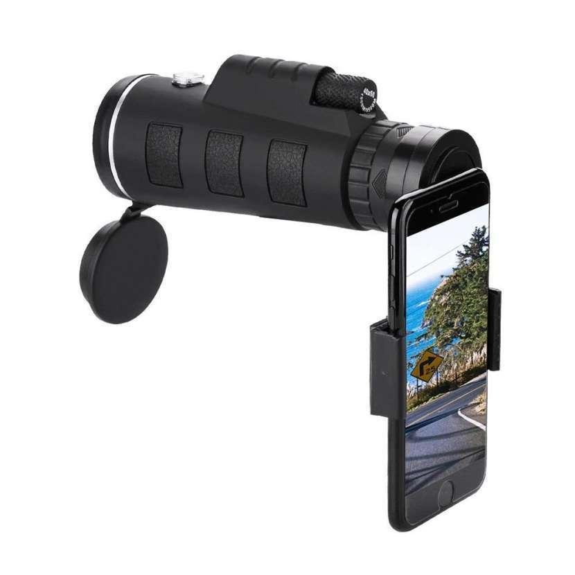 Zoom telescopio 40x60 y clip para smartphone - 3