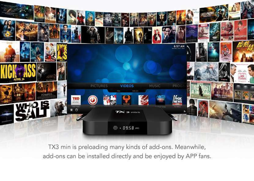 Tv box android 7.1 tx3 mini - 6