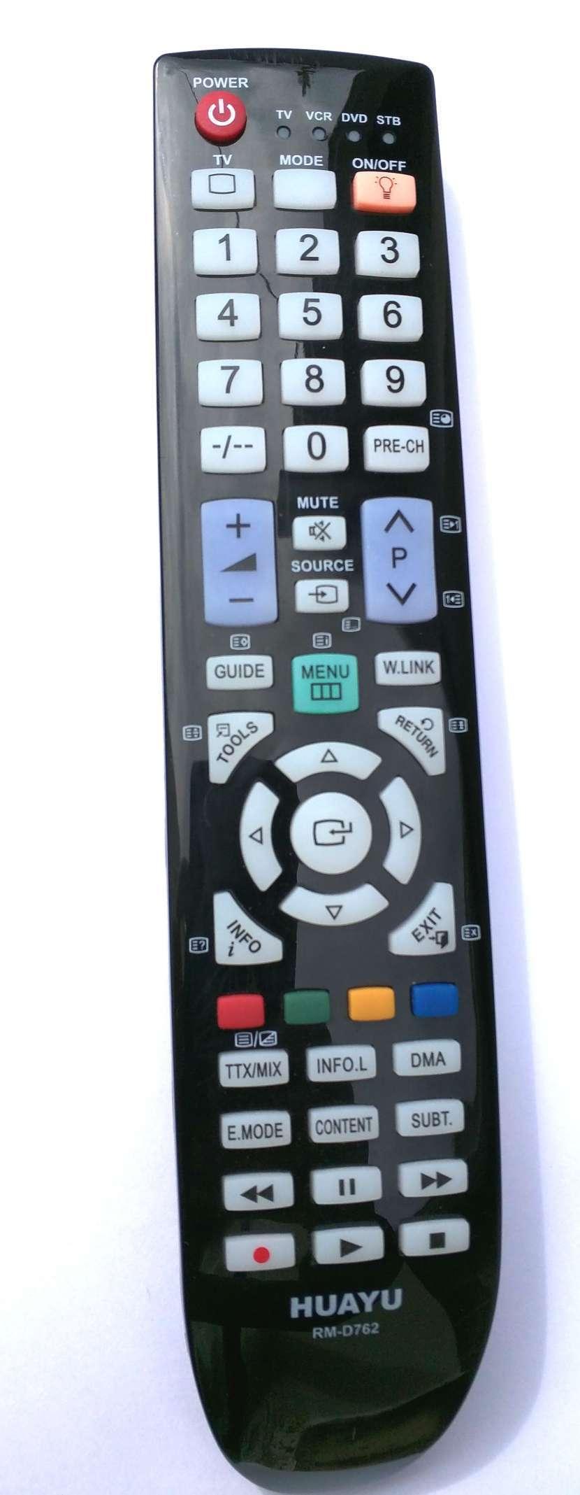 Control remoto para tv Samsung con luz - 1