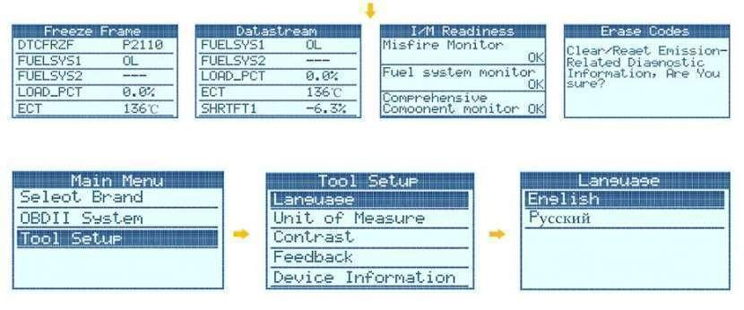 Escáner Autophix OM127 JOBD/OBDII. Lee jap. vía Chile - 3