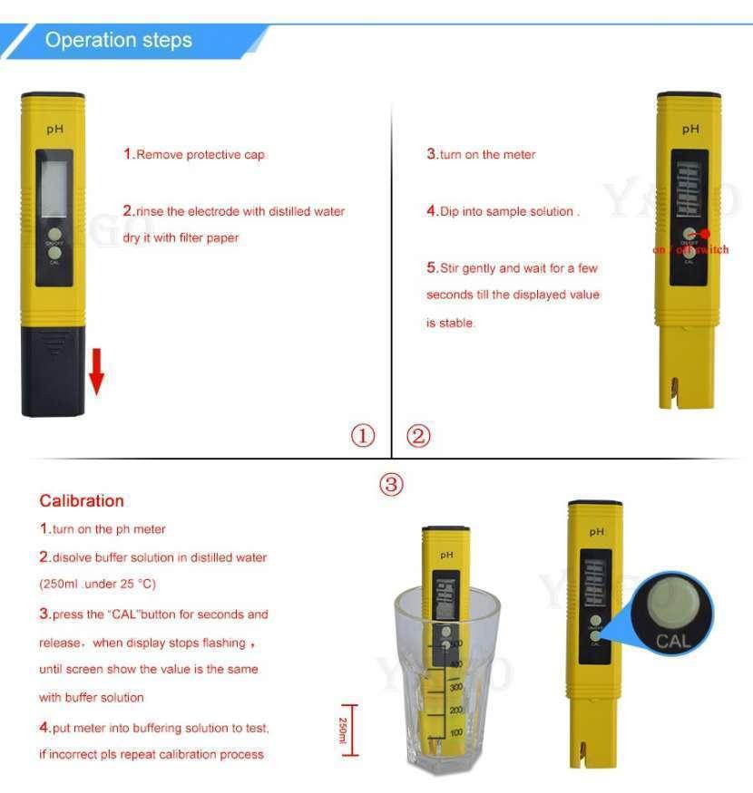 Medidor de pH digital líquidos y semi líquidos - 6