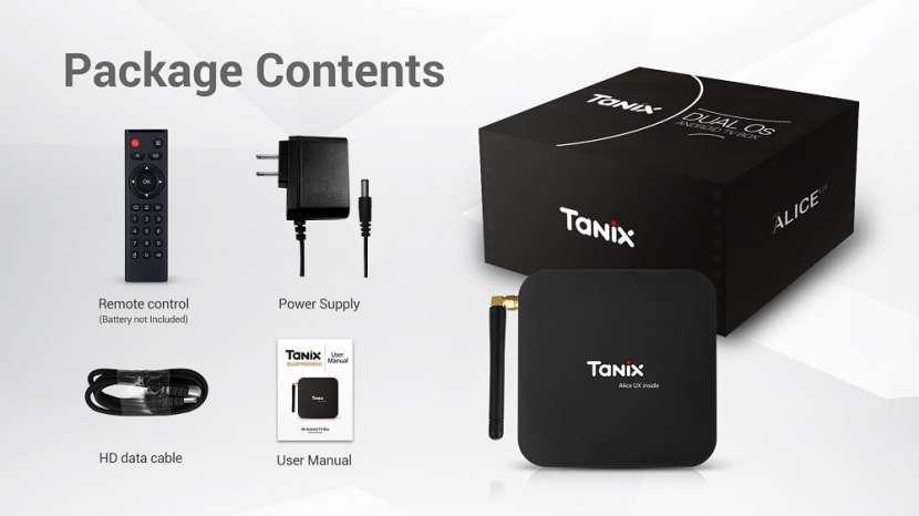 Tanix TX6 - Convertidor Smart tv Android - 4