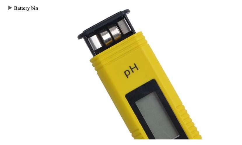 Medidor de pH digital líquidos y semi líquidos - 5