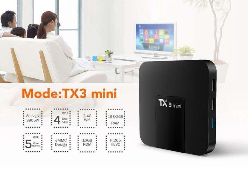 Tv box android 7.1 tx3 mini - 2