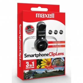 Lente para smartphone Maxell S.LENS-3PK ojo de pez/panorámico