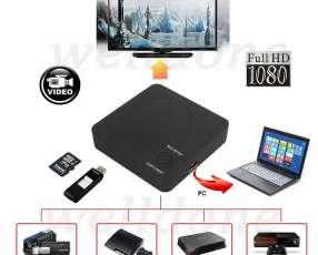 Capturador HDMI vídeo box