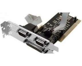 Tarjeta pci para puertos 2 serial y 1 paralelo