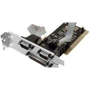Tarjeta PCI para puertos 2 serial y 1 paralelo - 0
