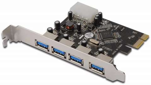 TARJETA PCI EXPRESS X1 DE 4 PUERTOS
