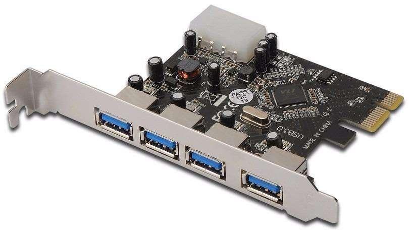 TARJETA PCI EXPRESS X1 DE 4 PUERTOS - 0