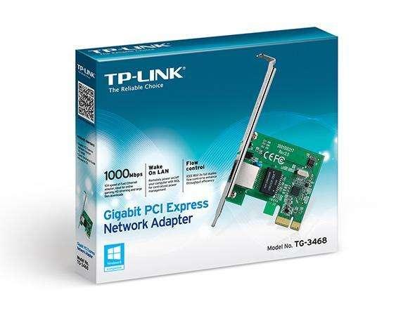Tarjeta de red PCI express 10/100/1000 LAN rj45 tg-3468 Gigabit - 0