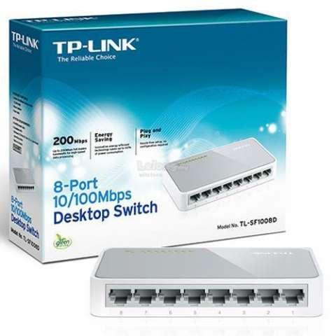 SWITCH 08 PUERTOS 10/100 MBPS TPLINK TL-SF1008D
