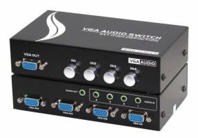 Selector de señal VGA 4 entradas 1 salida switch