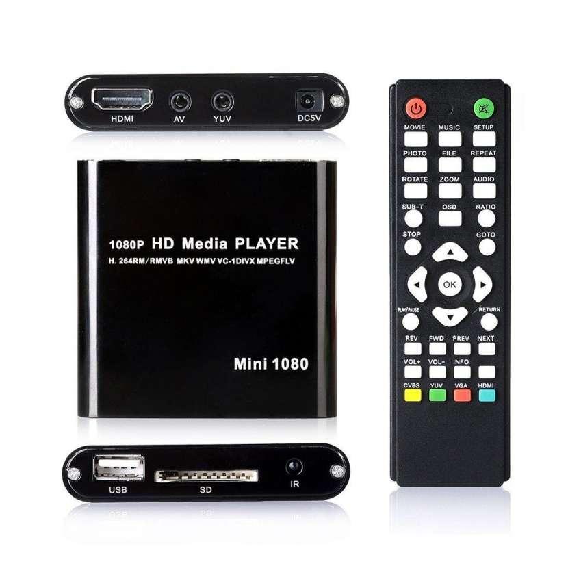 Reproductor multimedia USB/SD/MMC con salida RCA/HDMI. Control incluido. - 0