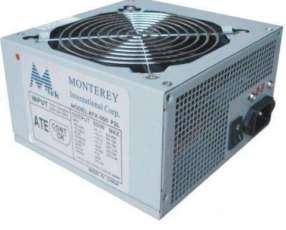 Fuente atx 650 watts mtek caja verde