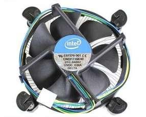 Cooler para procesador intel i3 socket 1155/1150/1151 con disipador