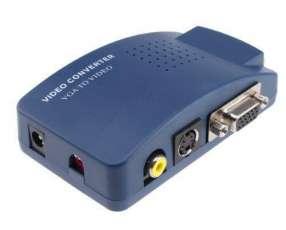 Conversor VGA A RCA S video O VGA convierte la salida VGA A