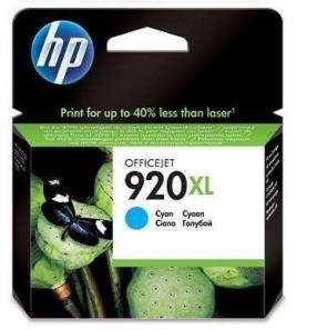 Cartucho de tinta HP 920 XL Cian