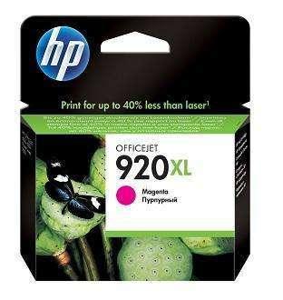 Cartucho de tinta HP 920 XL magenta rosa