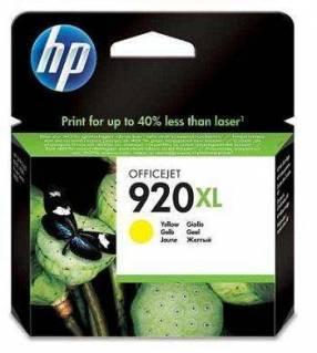 Cartucho de tinta HP 920 XL Amarillo