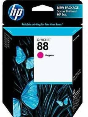 Cartucho de tinta HP 88 Magenta Rosa C9387AL