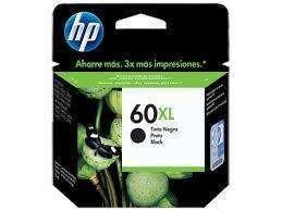 Cartucho de tinta HP 60 XL negro 12 ML