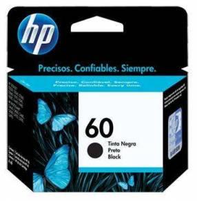 Cartucho de tinta HP 60 negro