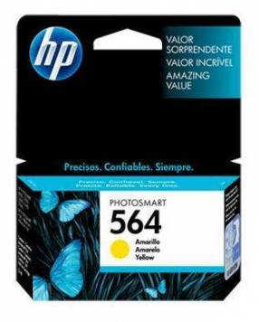 Cartucho de tinta HP 564 Amarillo