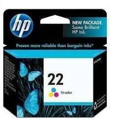 Cartucho de tinta HP 22