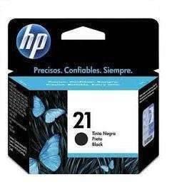 Cartucho de tinta HP 21